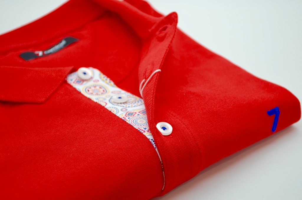 Men's Red Polo Shirt   Men's Polo Shirts, Sale - 7camicie